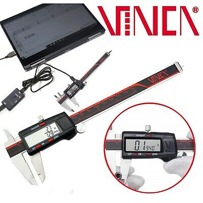 DIGITAL ELECTRONIC CALIPER Vernier Inch Measuring Stainless Steel Micrometer