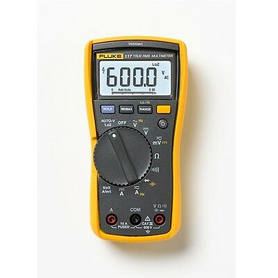 FLUKE 117 True RMS Digital Multimeter with Calibration Certificate - UK Supplied