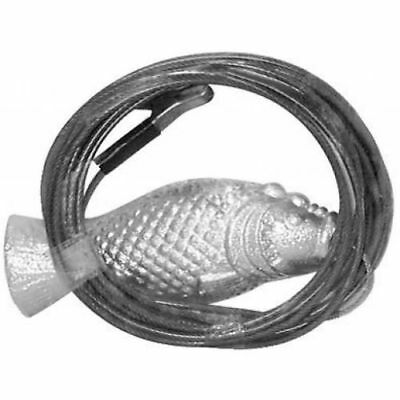 Boat Marine Grouper Zinc Anode Includes 20' galvanized wire rope and with clip