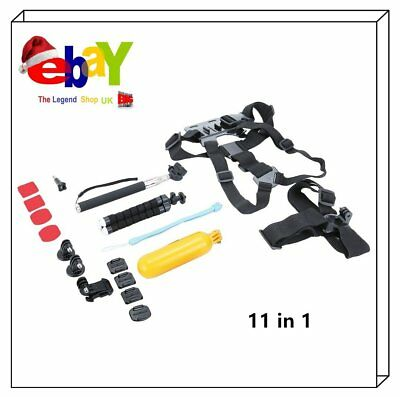 11 In 1 Kit Action Camera Accessories Set For GoPro Sports Camera Mount Parts