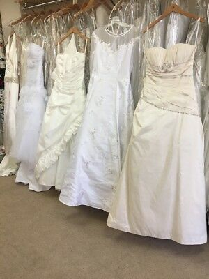 Lot Of 5 Random wedding gowns brand new