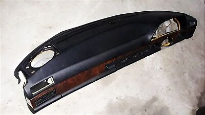Dashboard black Armaturenbrett Mercedes W126 SE SEL SEC RHD 1266804787 9045