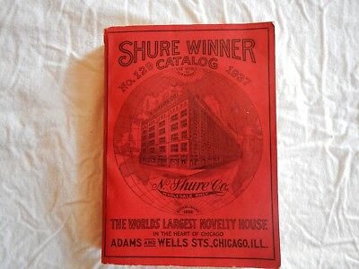RARE Vintage 1937 Shure Winner Catalog No. 129  The Worlds Largest Novelty House