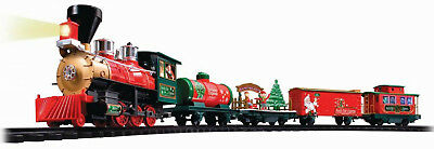 Christmas Train Set Remote Control North Pole Express  Battery Operated Wireless