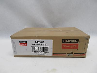 "Simpson Strong-Tie WA75812 20 TOTAL Wedge Anchor 3/4"" x 8-1/2"""