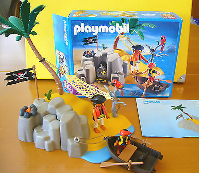PLAYMOBIL 4139 Pirateninsel Piraten-Schatzinsel  / 1-A / unbespielt in OVP