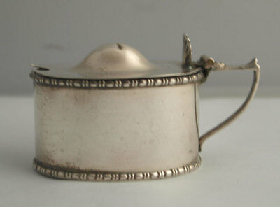 George V Solid Silver Mustard - Chester 1920