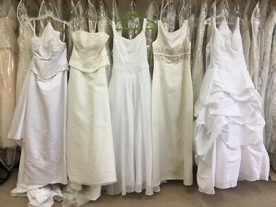 Lot Of 5 random wedding dresses brand new with tags!