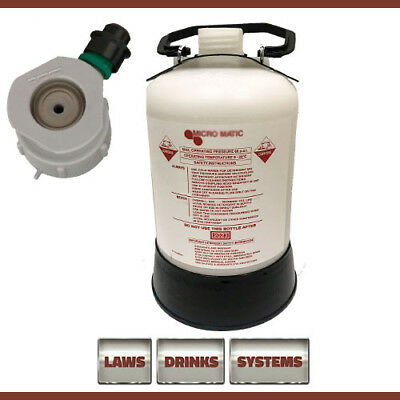GRUNDY (G Type) Beer Line Cleaning Bottle 5 Litre