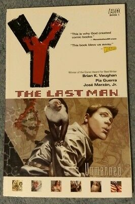 Y The Last Man - Unmanned' Book 1. Graphic Novel. Paperback. Brian K Vaughan