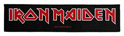 IRON MAIDEN logo superstrip 20x5cm patch Lizenziert