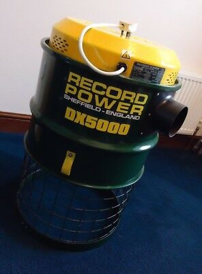 Record Power DX5000 Dust Extractor