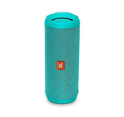 JBL FLIP 4 Teal Portable Bluetooth Speaker (Certified Refurbished)