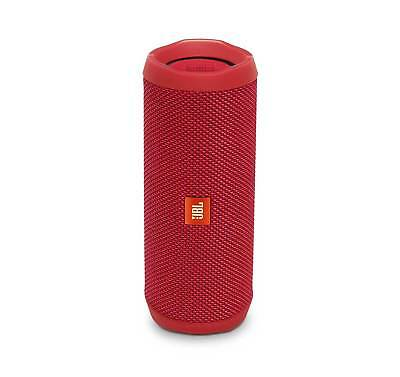 JBL FLIP 4 Red Portable Bluetooth Speaker (Certified Refurbished)