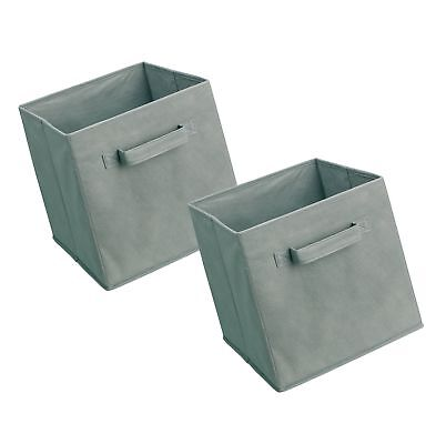 Closetmaid 18657 Cubeicals Fabric Drawer Gray 2 Pack 12 73 Picclick
