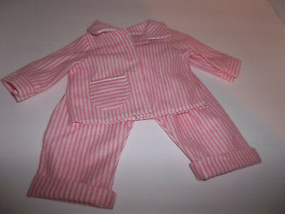 "Pajamas Pink and White Stripe made for18"" American Girl Doll Clothes New"