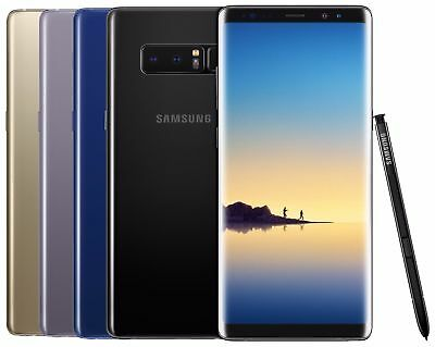 Samsung Galaxy Note 8 SM-N950U 64GB Unlocked AT&T T-Mobile Android DOT ON LCD