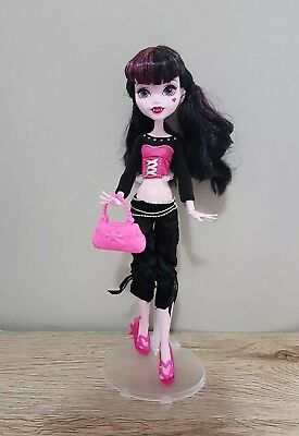 Monster High Doll New Dress complete Outfit Clothes pants top handbag shoes