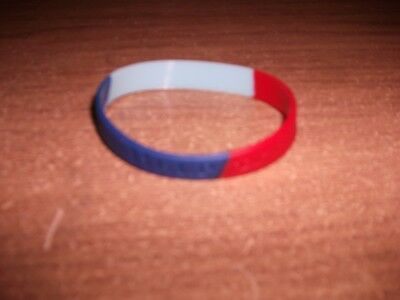 NEW Adults Help For Heroes Rubber Wristband