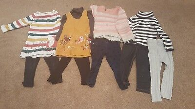 Girls autumn/winter clothes bundle age 18-24 months, mainly TU.