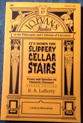 R A Lafferty - It's Down Slippery Stairs. Essays on Fantastic Literature, Borgo