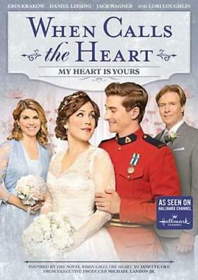 WHEN CALLS THE HEART: MY HEART IS YOURS (Region 1 DVD,US Import,sealed.)