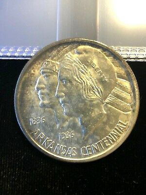 1937-S Arkansas Commemorative Half Dollar .99c NO RESERVE
