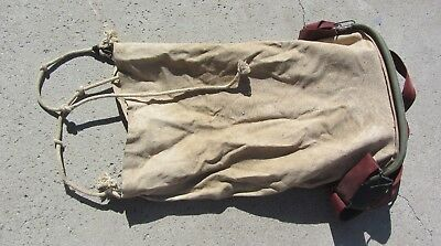 Farming Orchard Bag Apple Fruit Picking Vintage Metal Canvas Harness House Decor