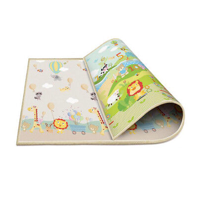 Baby Crawling Thick Play Mat Game Rug Children Carpet Floorcover Mat 200x180cm