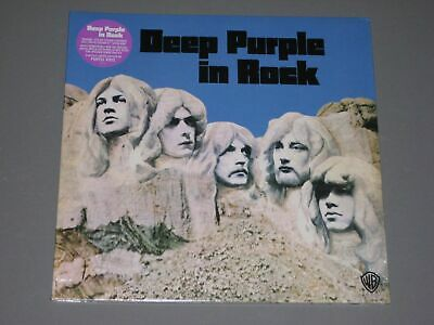 DEEP PURPLE In Rock 180g LP (Remastered Purple Vinyl) gatefold New Sealed Vinyl