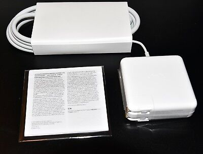 Orig Apple MacBook Pro MagSafe 2 85W A1424 Power Adapter AC Charger MD506LL/A