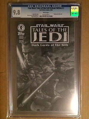 CGC 9.8 Star Wars: Tales of the Jedi Ashcan Edition #1 *1994*