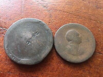 2 Convict/Proclamation Coins Dated 1797 & 1799