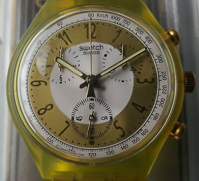 "Swatch ""Golden Globe"" SCG 100 Chrono 1993"