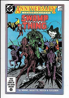 DC Swamp Thing (2nd Series)  #50, VF- or Better? 1986, Alan Moore, Bissette