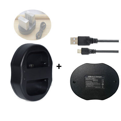 LP-E8 USB Charger For Canon EOS 550D 600D Kiss X4, Rebel T5i,T4i,T3i,T2i Battery