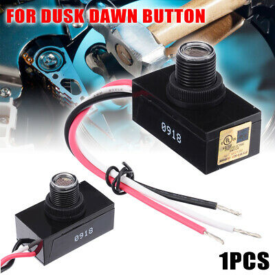 120V Remote Photocell Dusk Till To Dawn Automatic Light Switching Switch Sensor