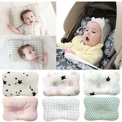 Newborn Baby Infant Pillow Memory Foam Positioner Prevent Flat Head Anti Roll US