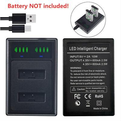 Battery DUAL USB Charger NP-BX1 for Sony DSC-RX100M5 DSC-HX80 HDR-CX240E