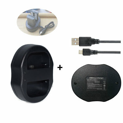 USB Charger FOR Canon CB-2LWE NB-2LH ,NB-2L EOS 350D 400D Rebel Xt XTi Battery