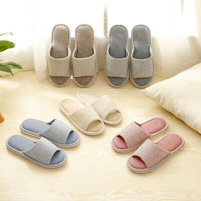 New Womens Mens Anti-SliP Comfortable Slippers Home Sandals Indoor House Shoes