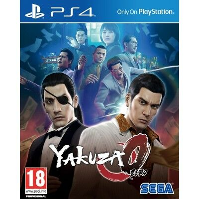 Yakuza 0 PS4 PlayStation 4 Game PAL Version New & Sealed In Stock SALE