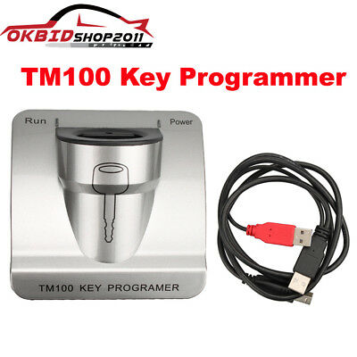 TM100 Transponder Progarmmer Full Version With 62 Modules OBD2 Update Online