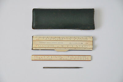 A.W. Faber Castell 63/87R System Rietz ADDIATOR Rare Slide Rule COLLECTABLE