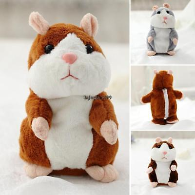 Children Cute Funny Talking Hamster Electronic Plush Toy OO55