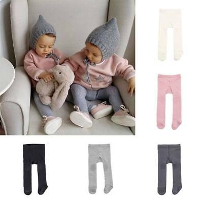 Autumn Winter Cotton Children Non-slip Pantyhose Soft Warm Baby Kids White Tight