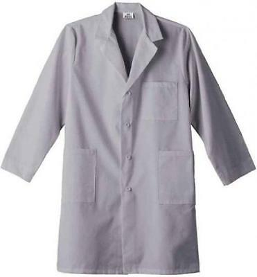 Meta 6116 Adult's 40-in Labcoat Silver Small