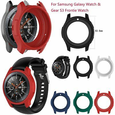 Silicone Skin Case Cover Shell for Samsung Galaxy Watch & Gear S3 Frontie Watch