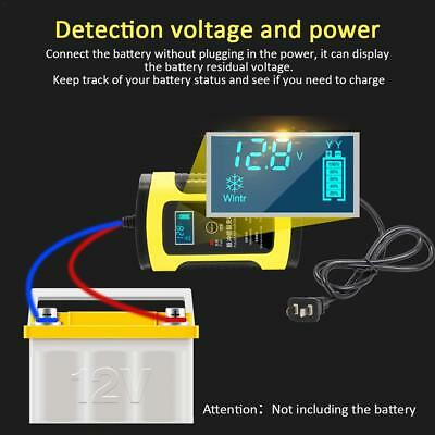 AU 12V 6A Motorcycle Car Battery Charger Universal Repair Type Lead Acid Storage