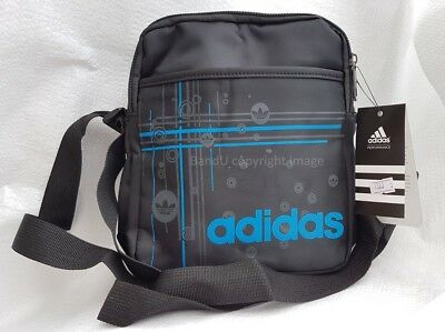 3f738276d7 Blue Brand New ADIDAS Men s Crossbody Shoulder Messenger Bag Free P PP
